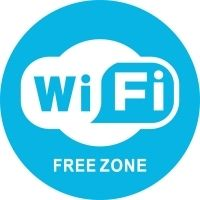 Наклейка 150 мм (Wi-Fi уличная)