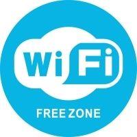 Наклейка 200 мм (Wi-Fi уличная)