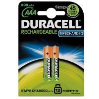 Duracell DX2400 HR03-2BL AAA 800mAh