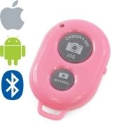 Bluetooth Remote Shutter Camera 360 (pink)