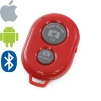 Bluetooth Remote Shutter Camera 360 (red)