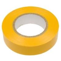 Изолента 19мм х 20м желтая ЭРА