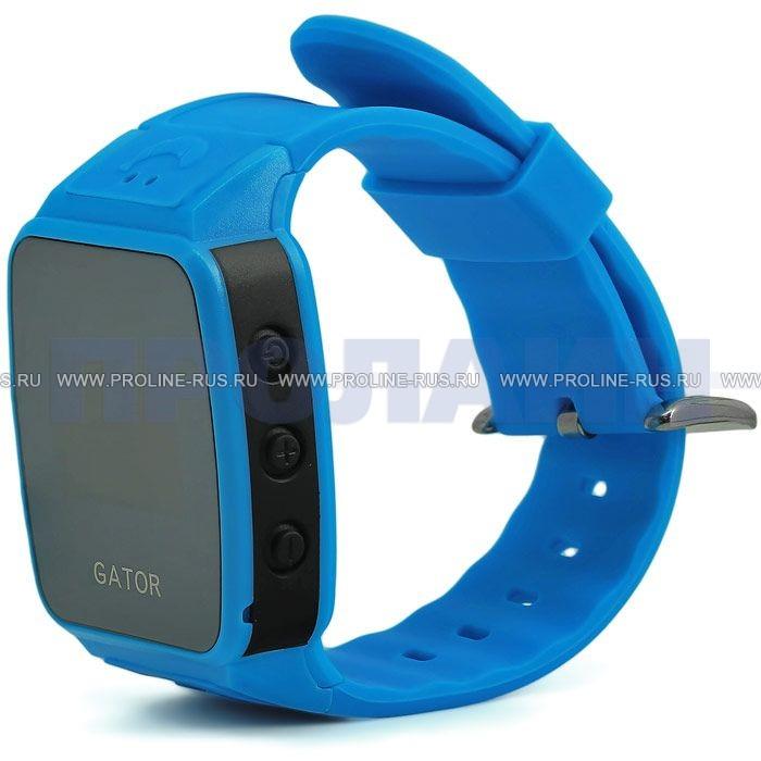Умные детские часы с gps smart baby watch a6 blue.