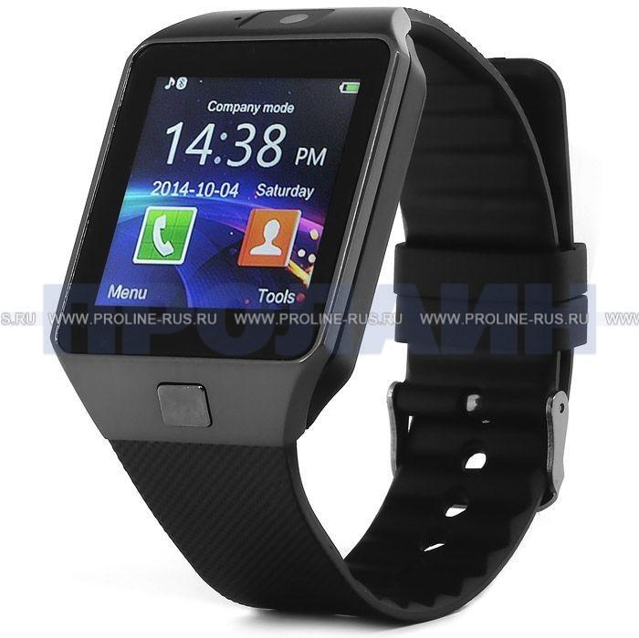 0210f472 Умные часы Smart Watch DZ09 Black - купить по выгодной цене в ...