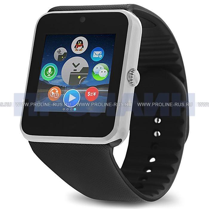Умные часы Smart Watch GT08 Silver - купить по выгодной цене в ... 0df458ad91860