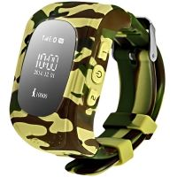 Smart Baby Watch Q50 Camo Yellow