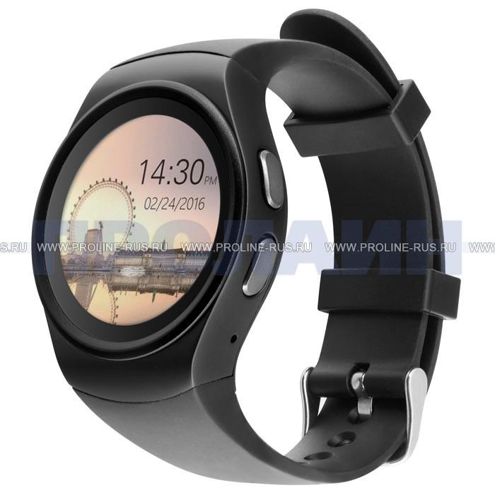 Умные часы Smart Watch KW18 Black - купить по выгодной цене в ... e2b8fc298e442