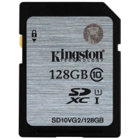 Kingston SDXC 128Gb Class 10 UHS-I