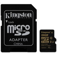 Kingston MicroSDHC Gold UHS-I U3 16Gb C10