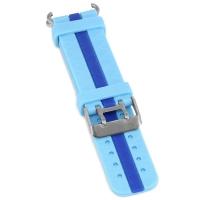 Ремешок силиконовый Smart Baby Watch GW200S Blue