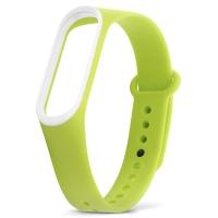 Xiaomi Mi Band 3 зеленый с белым