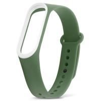 Xiaomi Mi Band 3 тёмно-зелёный с белым