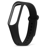 Ремешок для фитнес-браслета Xiaomi Mi Band 3 чёрный
