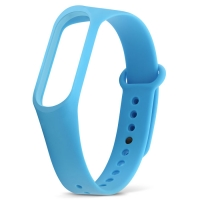 Ремешок для фитнес-браслета Xiaomi Mi Band 3 синий