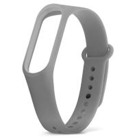 Ремешок для фитнес-браслета Xiaomi Mi Band 3 серый