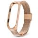 Ремешок для фитнес-браслета Xiaomi Mi Band 3 Milanese Loop золотой