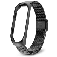 Xiaomi Mi Band 3 Milanese Loop черный