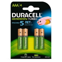 Duracell DX2400 HR03-4BL AAA 850-900 mAh 4 шт.