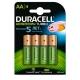 Duracell DX1500 HR6-4BL AA 2400-2500 mAh 4 шт.