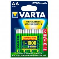 VARTA 5706 AA 2700 мАч BL4 4 шт