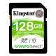128GB SDXC Class 10 Kingston Canvas Select