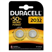Duracell DL/CR2032-2BL