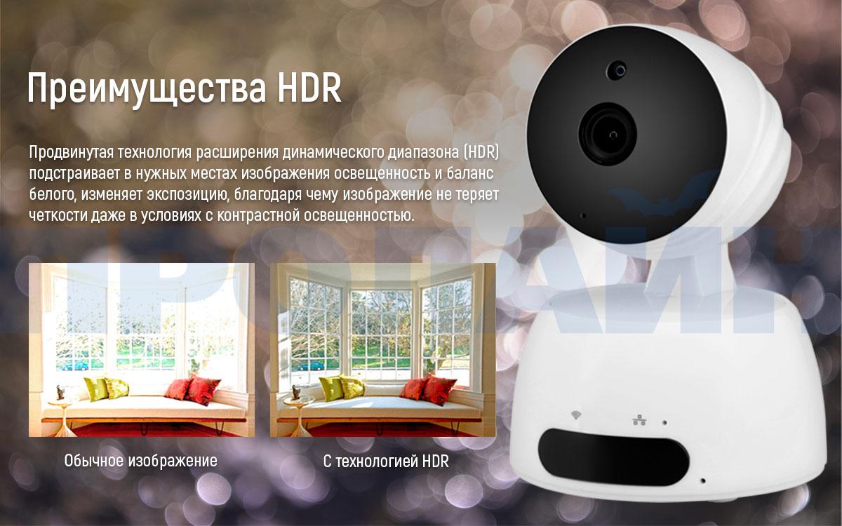 Внутренняя поворотная IP камера Proline IP-HPT829X