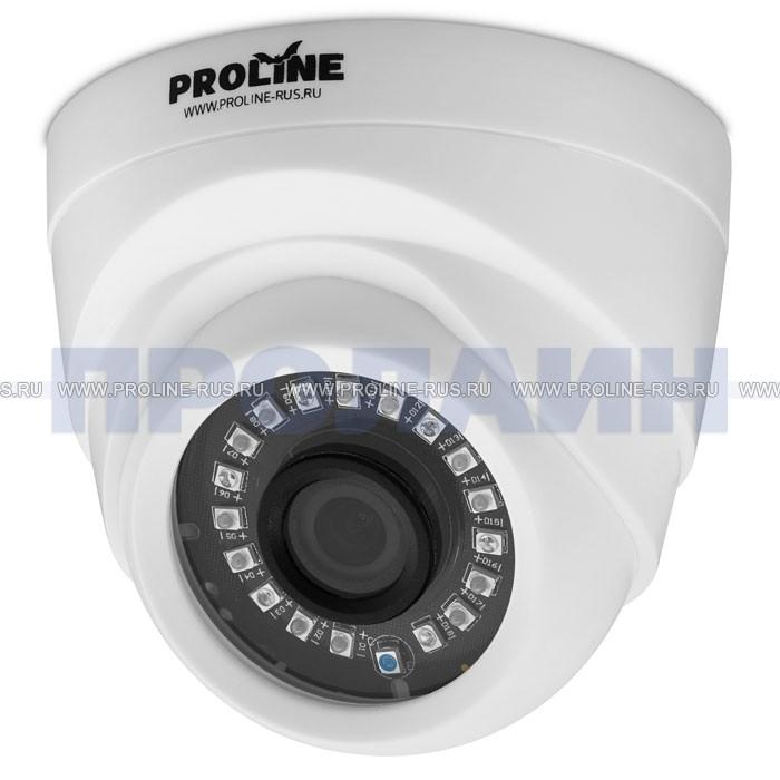 Купольная гибридная видеокамера Proline PR-HD2225FC