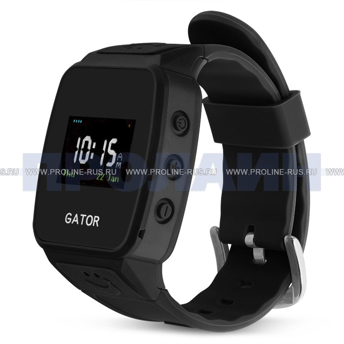 Часы с GPS Gator 2 Black