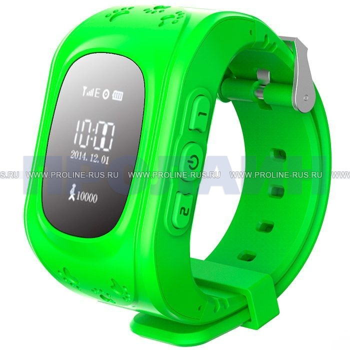 Часы с GPS Smart Watch Q50 Green