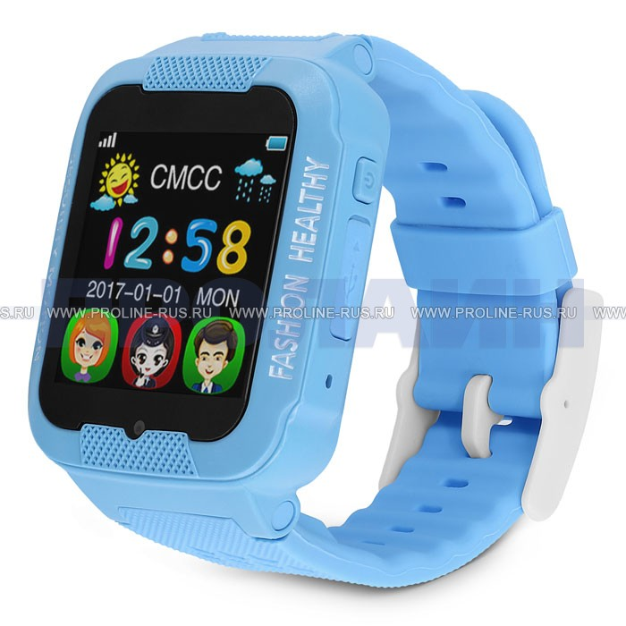 Часы с GPS Smart Kid Watch K3 Blue