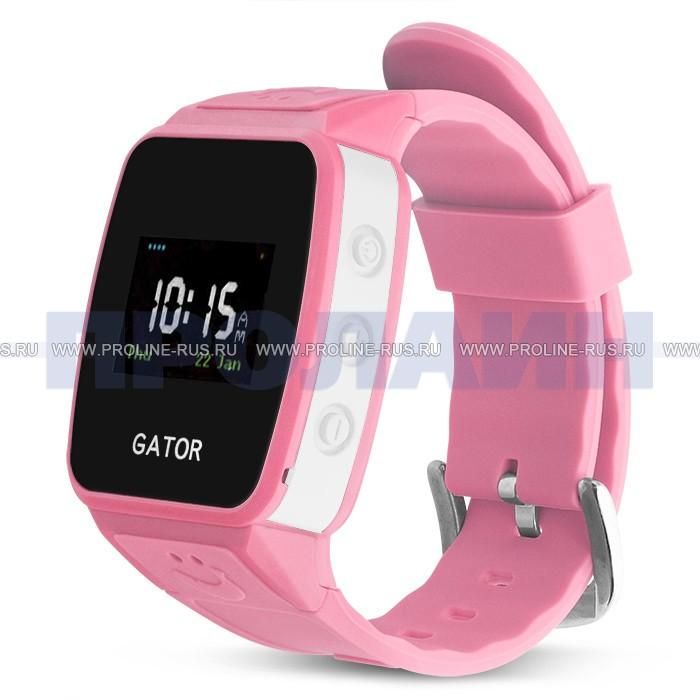 Умные часы с GPS Gator 2 Pink