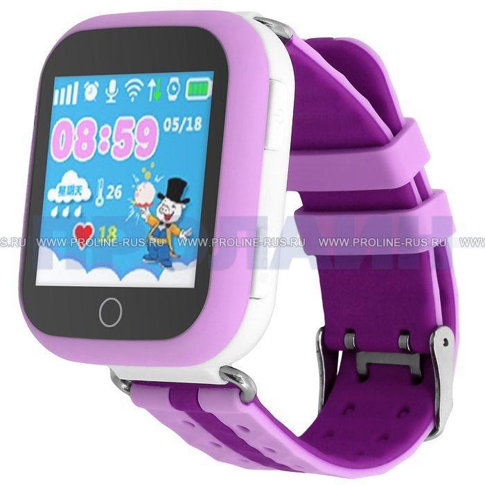 Умные детские часы с GPS Smart Baby Watch GW200S Purple