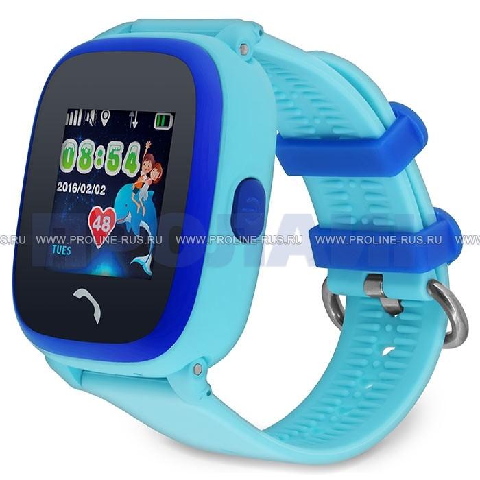 Умные детские часы с GPS Smart Baby Watch GW400S Blue