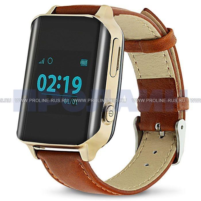 Умные часы с GPS Smart Watch D100 Gold