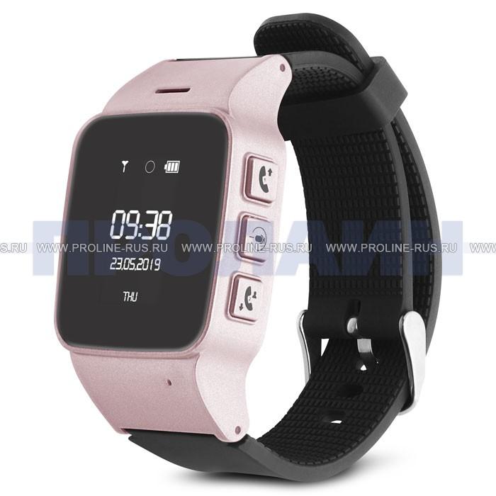 Умные часы с GPS Smart Watch D99 Rose