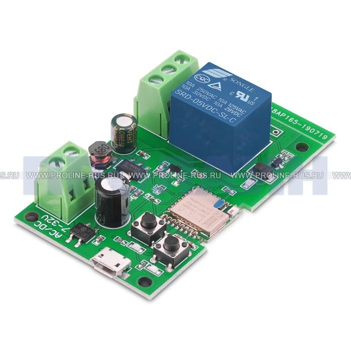 Импульсное Wi-Fi реле Sonoff 5V 12V