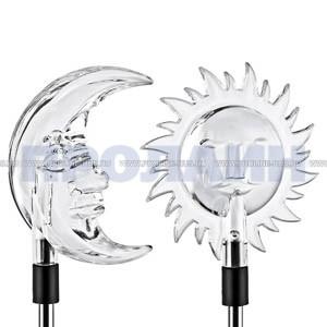 Садовый светодиодный аккумуляторный фонарь с солнечной батареей и датчиком освещенности ЭРА SD3