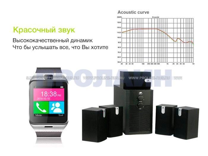 Красочный звук Smart Watch GV18