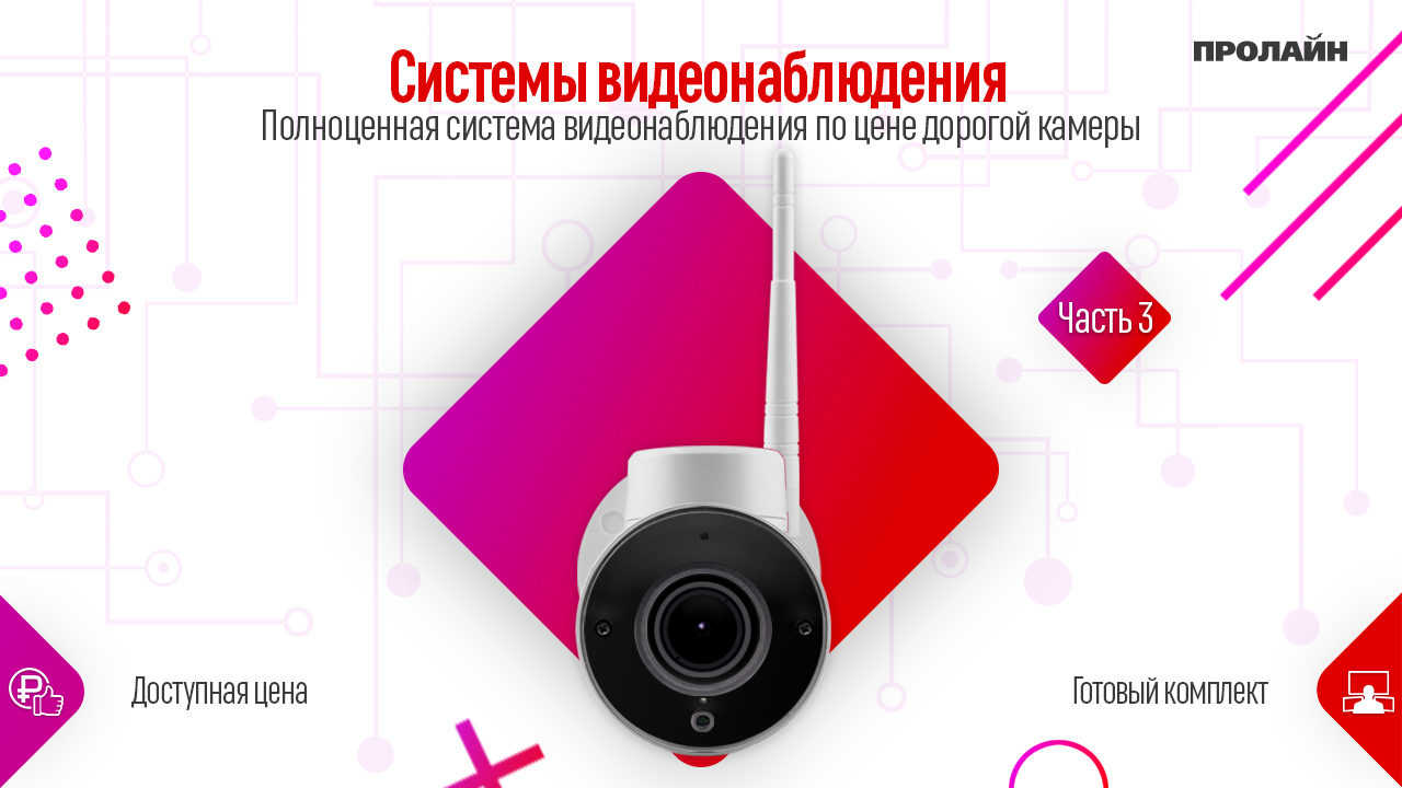 Полноценная система видеонаблюдения по цене дорогой камеры
