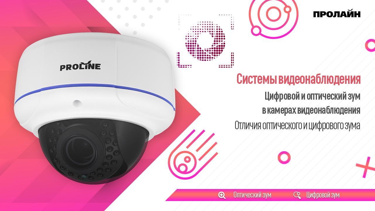Цифровой и оптический зум в камерах видеонаблюдения
