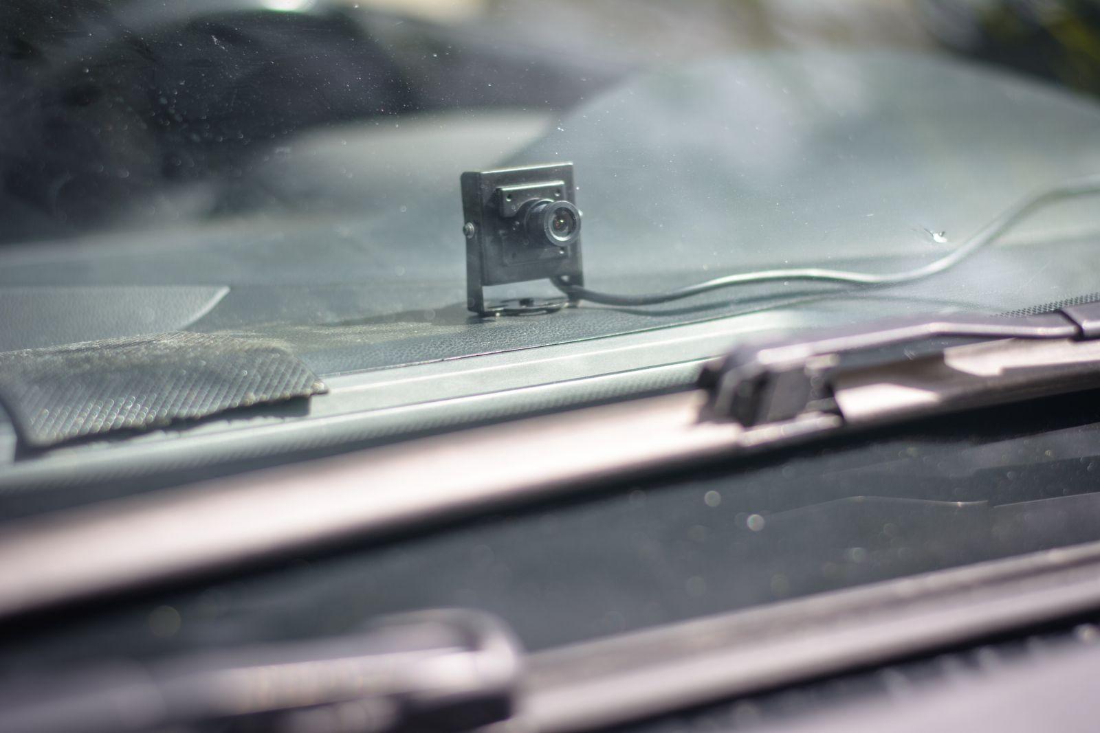 комплект оборудования для видеонаблюдения на учебный автомобиль