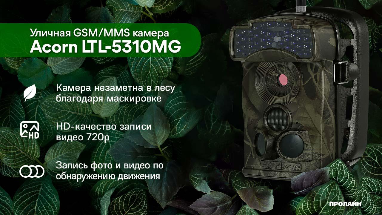 Уличная GSM/MMS камера Acorn LTL-5310MG