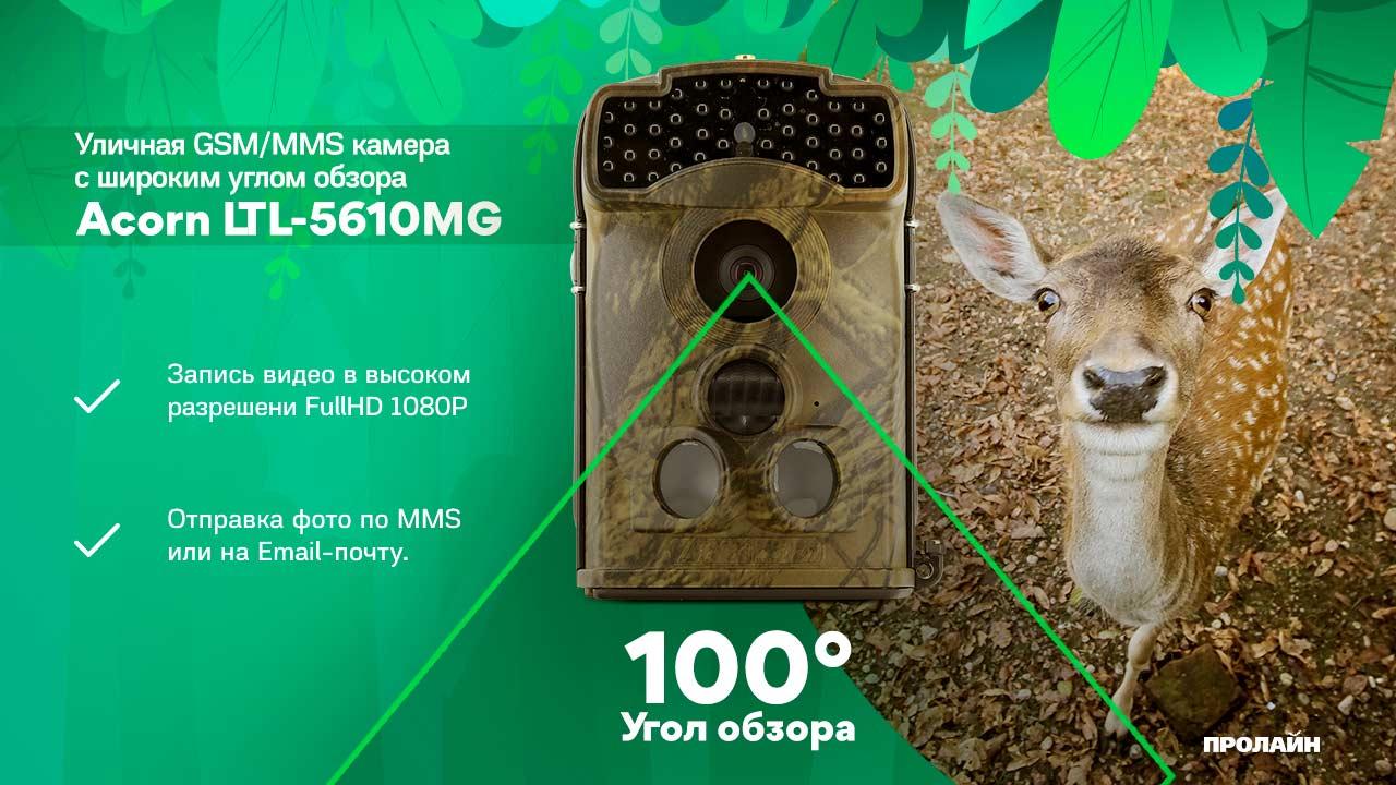 Уличная GSM/MMS камера Acorn LTL-5610WMG