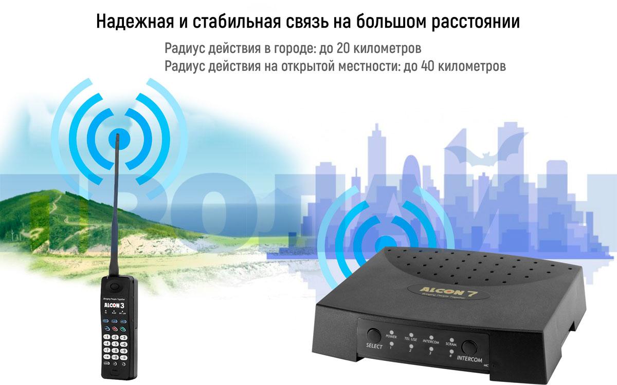 Телефон ALCON CT-73BH