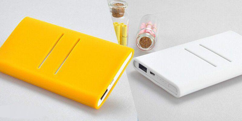 Чехол для Xiaomi Mi Power Bank 5000 White