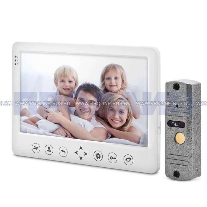 Комплект видеодомофона с видеопанелью Proline DF-KIT105-601S