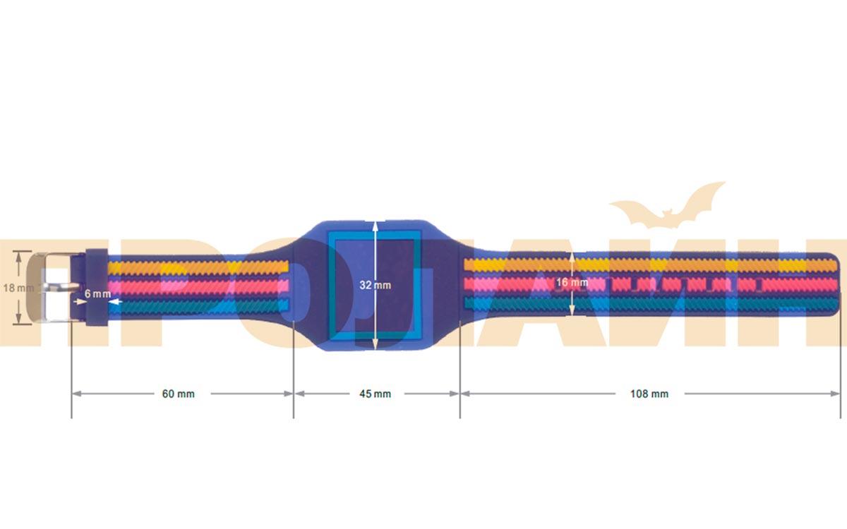 RFID браслет EM-Marine GD001CR