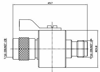 Грозозащита TNC-GD-2.5