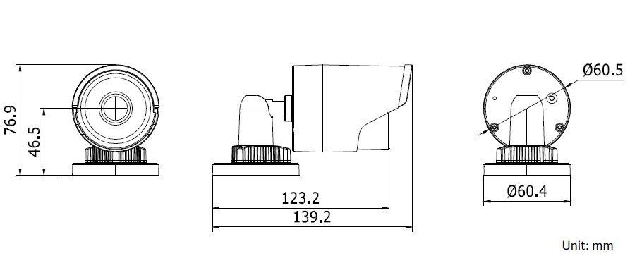 Уличная IP камера HIKVISION DS-2CD2032F-I 4mm